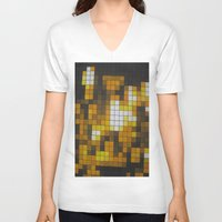 chandelier V-neck T-shirts featuring Chandelier by Hayley Q. Drewyor