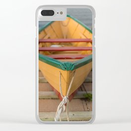 East Coast Dory Clear iPhone Case