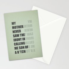 Son of a B*TCH Stationery Cards