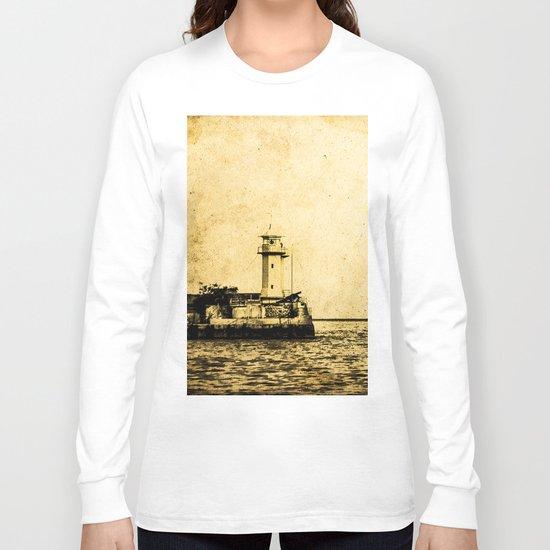 Old Lighthouse (vintage) Long Sleeve T-shirt