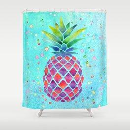 Pineapple Crush Shower Curtain