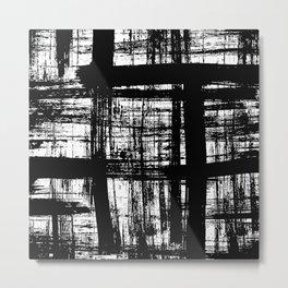 Brushwork Metal Print