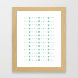 Lil Monsters - pattern 4 Framed Art Print