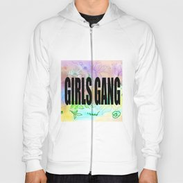 girls gang . Illustration Hoody