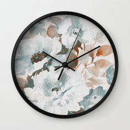FLORAL#10 Wall Clock