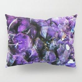 Amethyst Geode Pillow Sham