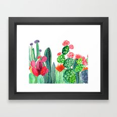 A Prickly Bunch 4 Framed Art Print