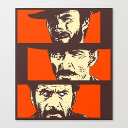 Blondie, Angel Eyes, Tuco Canvas Print