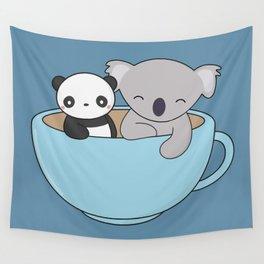 Chibi Panda Wall Tapestries Society6