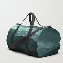 Gloomy Landscape Secret Green Field Duffle Bag