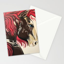 Cinnamon Horse by Noelles's Art Loft Stationery Cards