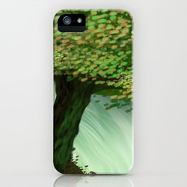 Painted Woods iPhone Case