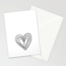 All Day. Every Day. Heartbeats for NYC. Stationery Cards