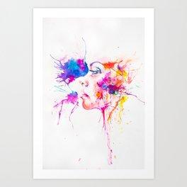 Cosmic Look Art Print