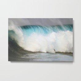 Wave Series Photograph No. 31 - Big Blue Metal Print