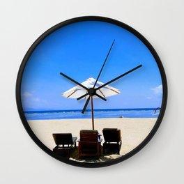 Sanur Beach Wall Clock