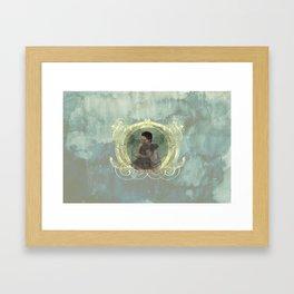 Si Gerong and Orah: SEBEI (TWINS) Framed Art Print