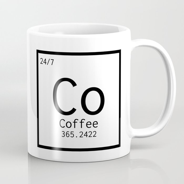 Coffee Chemistry Coffee Mug By Kendallcreates Society6