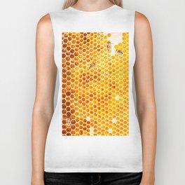 Honeycomb & Honeybee Biker Tank