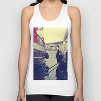 sailing Tank Tops featuring sailing by gzm_guvenc