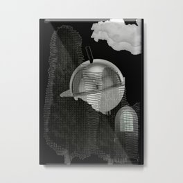 Science Fiction Metal Print