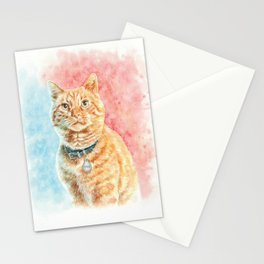 Goose The Cat Stationery Cards
