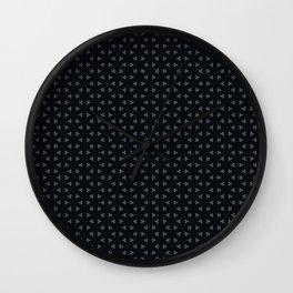 Black small frozen Wall Clock
