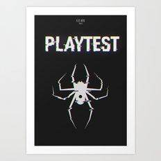Playtest Art Print