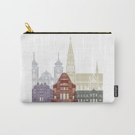 Osijek skyline poster Carry-All Pouch