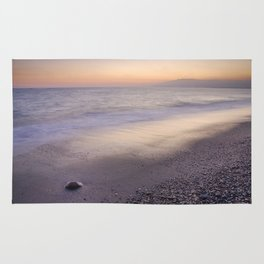"""Amoladeras beach"" Rug"