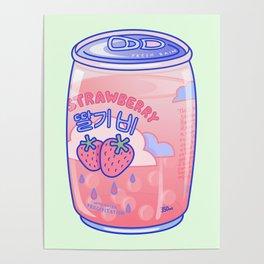 Strawberry Rain Poster