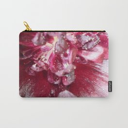 Wine red Alcea rosea 2 Carry-All Pouch