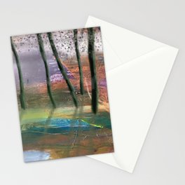 Afternoon by the Silent Pond Stationery Cards