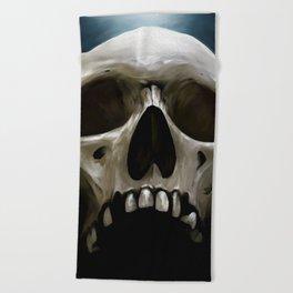Skull 13 Beach Towel