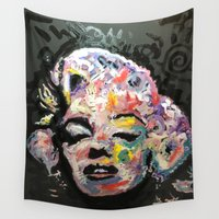 hollywood Wall Tapestries featuring Hollywood by Matt Pecson