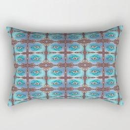 Bird Song Pattern Rectangular Pillow