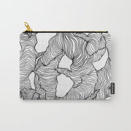 Reticulated Carry-All Pouch