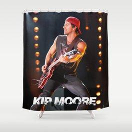 kip moore world tour 2019 kepiting Shower Curtain