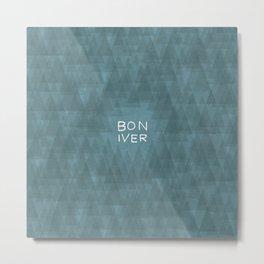 BonIver Metal Print