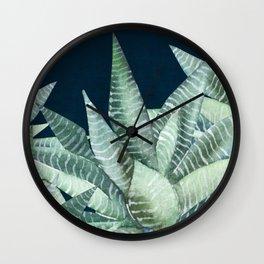 Succulent Garden (Snake Plant) Wall Clock