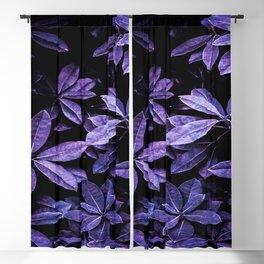 Stillness, Botanical Plants Leaves Blackout Curtain