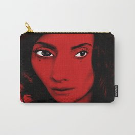 Red Woman Carry-All Pouch