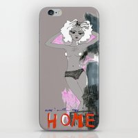 naked iPhone & iPod Skins featuring Naked by Angela Nicolien van den Berg
