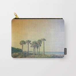 Seven Palm Trees Summer Vibes Carry-All Pouch