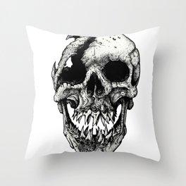 Homo Isurus Throw Pillow