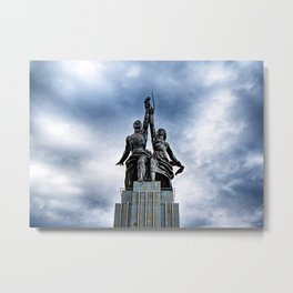 Worker and Kolkhoz Woman (Moscow 2013) Metal Print