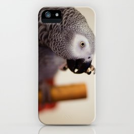 My Nose is Itchy iPhone Case