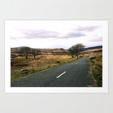 Road to ... Art Print