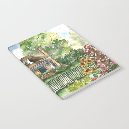 The House on Spring Lane Notebook