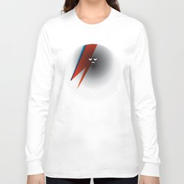 Round Bowie Long Sleeve T-shirt